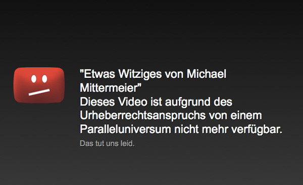 Michael Mittermeier verdient keinen Alternativtext