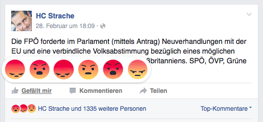 strache-reactions