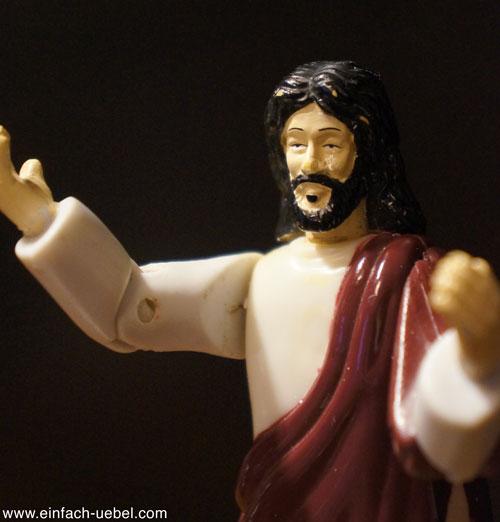 Jesus ist zwar traurig, aber mir ist es egal!